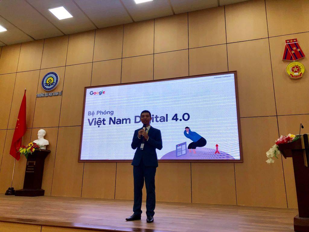 OABI tổ chức chương trình Vietnam Digital 4.0 cùng GOOGLE & trường ĐH Kinh Tế 50
