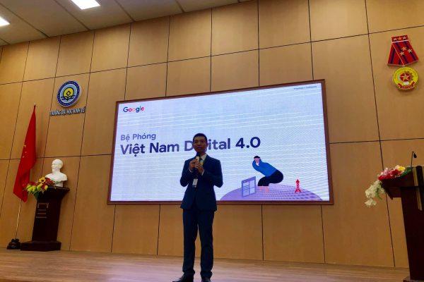OABI tổ chức chương trình Vietnam Digital 4.0 cùng GOOGLE & trường ĐH Kinh Tế 9
