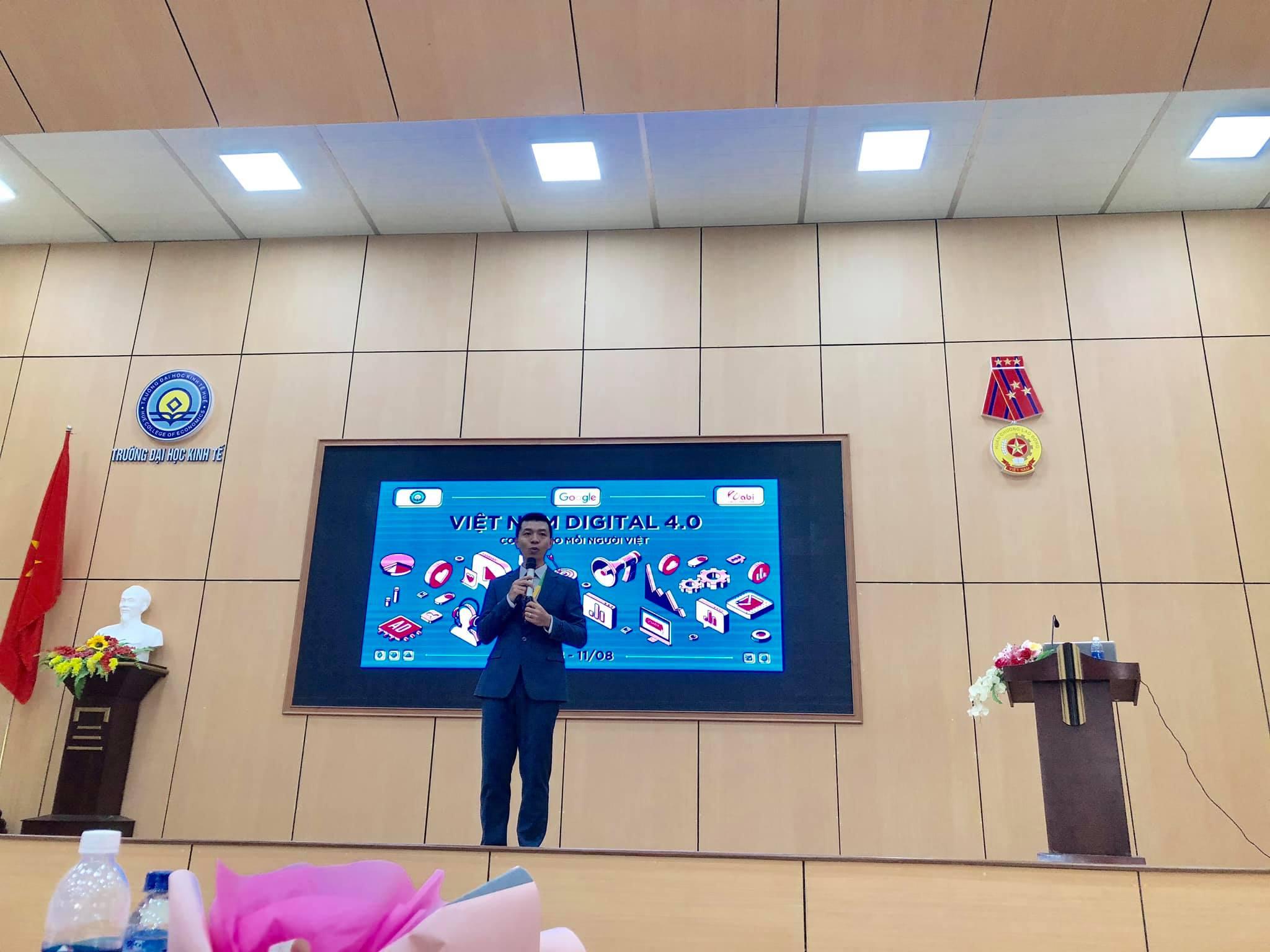 OABI tổ chức chương trình Vietnam Digital 4.0 cùng GOOGLE & trường ĐH Kinh Tế 5